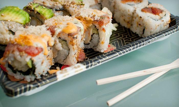 I Love Sushi- North Michigan Avenue - I Love Sushi- North Michigan Avenue: $10 Worth of Fresh Sushi Rolls