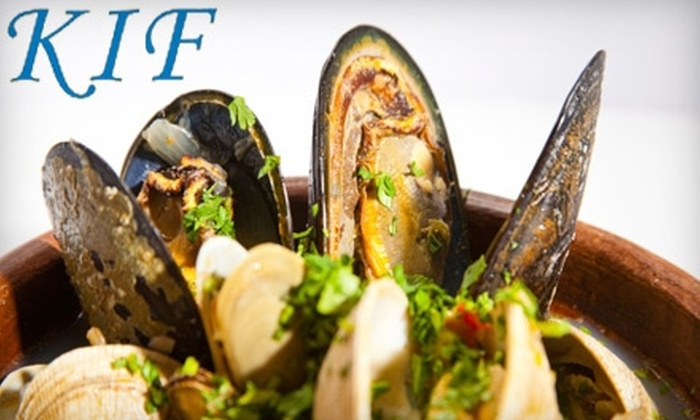 Kif - Fort Greene: $15 for $30 Worth of French Moroccan Cuisine and Drinks at Kif in Brooklyn