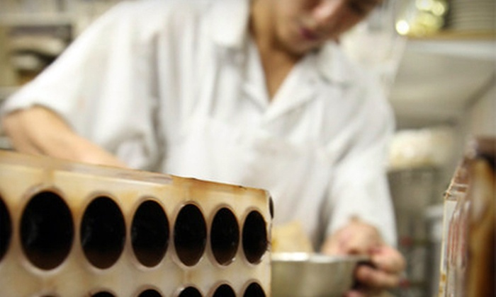 Canady Le Chocolatier - West Town: $75 for a Three-Hour Divine Art of Chocolate Making Class at Canady Le Chocolatier ($200 Value)