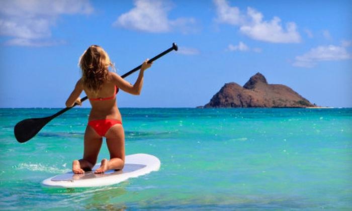 Laguna Beach Paddle Boarding - Laguna Beach: Paddleboard-Lesson Package or 90-Minute Paddleboard Rental from Laguna Beach Paddle Boarding (Up to 59% Off)