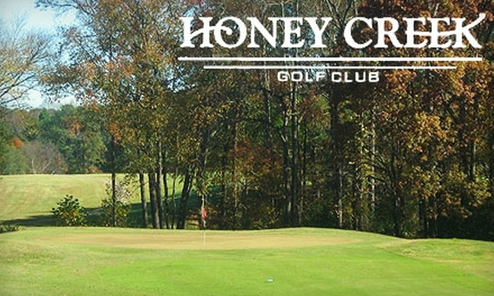 Honey Creek Golf Club - South Rockdale: $20 for 18 Holes of Golf, Cart Rental, and Large Bucket of Range Balls at Honey Creek Golf Club in Conyers (Up to a $41 Value)