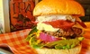The Firefly - Worcester: Burger and Soft Drink For Two or Four from £10 at The Firefly Craft beer bar & Kitchen (Up to 52% Off)