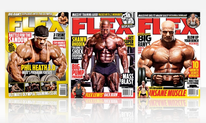 Flex Magazine Subscription: 1-Year Flex Magazine Subscription (12 Issues). Free Shipping.