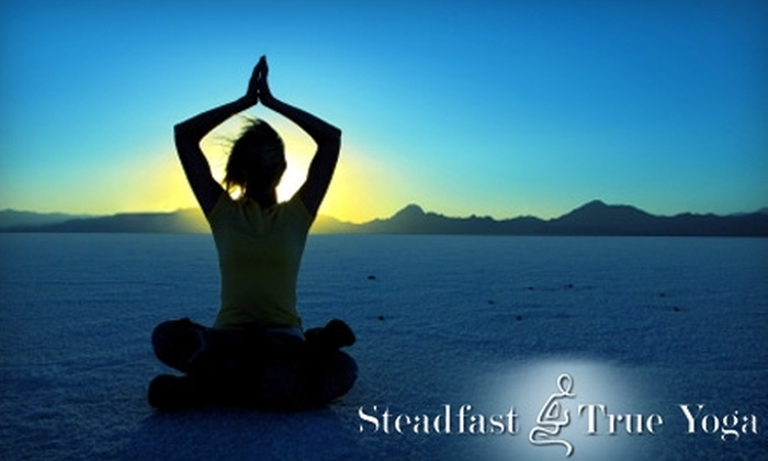Steadfast and True Yoga - Edgehill: $19 for Four Classes at Steadfast and True Yoga ($55 Value)