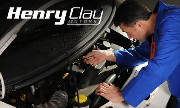 Henry Clay Motors - Glendale: Standard Oil Change at Henry Clay Motors. Choose Between Two Options.