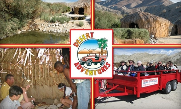 Desert Adventures - Los Angeles: $45 for Two-Hour Jeep-Drawn Wagon Tour of the San Andreas Fault from Desert Adventures ($75 Value)