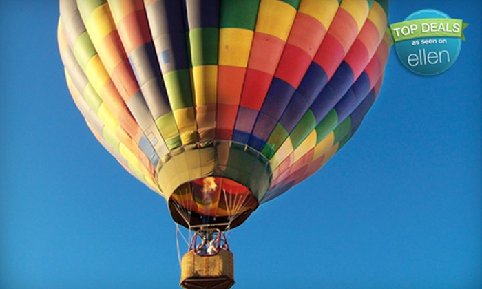Beautiful Balloons - Cutter Industrial Park: Hot Air Balloon Adventure with Brunch for One, Two, or Four from Beautiful Balloons (Up to 60% Off)