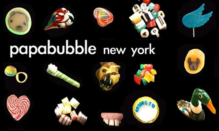 Papabubble - NoLita: $15 for $30 Worth of Handmade Candies and Custom Confections at Papabubble