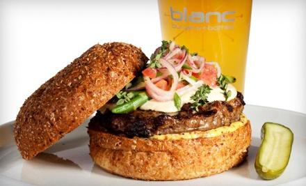 $14 Groupon to Blanc Burgers + Bottles - Blanc Burgers + Bottles in Omaha