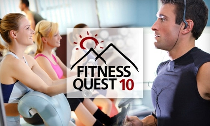 """""""Biggest Winner, Ultimate Thinner"""" Weight Loss Contest - Scripps Ranch: $20 for an Individual Pro Package Entry and a Chance to Win $5,000 in the """"Biggest Winner, Ultimate Thinner"""" Contest at Fitness Quest 10"""