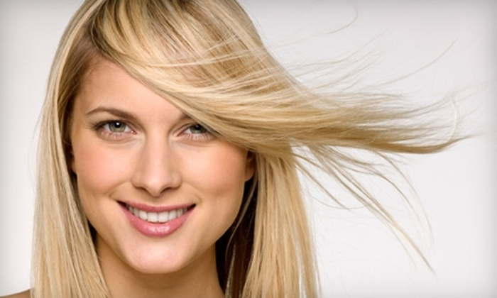 Hair Kingdom - Great Bridge East: $35 for a Haircut, Color, Deep-Conditioning Treatment, and Style at Hair Kingdom in Chesapeake (Up to $103 Value)