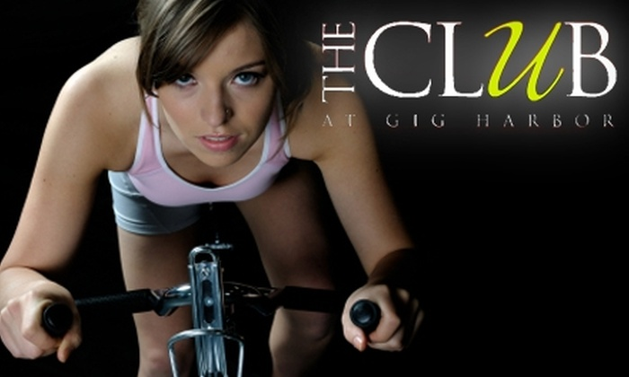 The Club at Gig Harbor - Seattle: $49 for Two Personal-Training Sessions and a One-Week Membership to The Club at Gig Harbor ($170 Value)