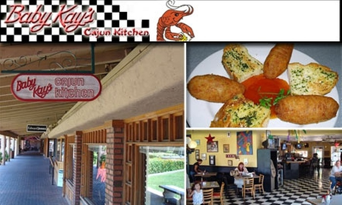 Baby Kay's Cajun Kitchen - Camelback East: $15 for $35 Worth of Cajun at Baby Kay's Cajun Kitchen