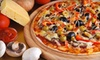 Round Table Pizza - Taku - Campbell: Pizza Meal for Four or $10 for $20 Worth of Pizzeria Fare at Round Table Pizza (Up to 55% Off)