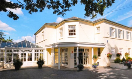 North Wales: 1 or 2 Nights for Two with Breakfast and Wine at 4* The Oriel Country Hotel & Spa