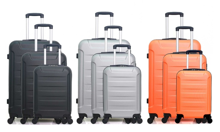 Set of Three Elbe Suitcases With Free Delivery