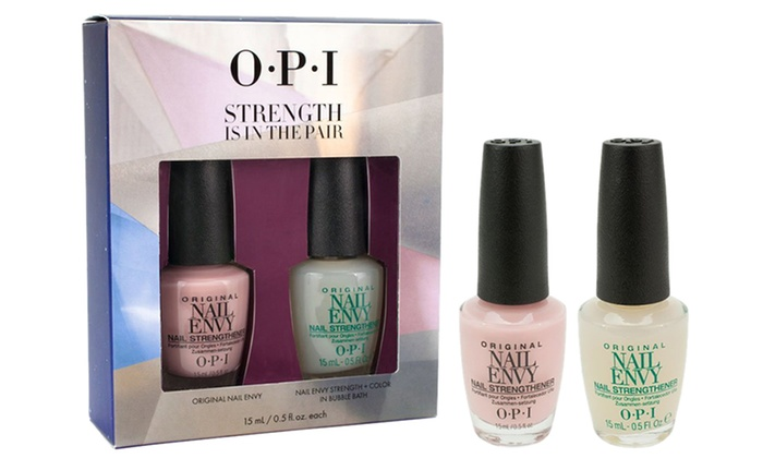 Opi Strength Is In The Pair Nail Treatment 2 Pack