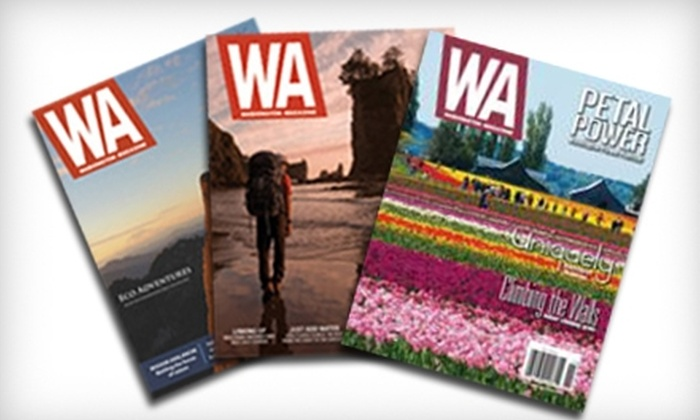 """""""Washington Magazine"""" - Logan: $6 for One-Year Subscription to """"Washington Magazine"""" ($12 Value)"""