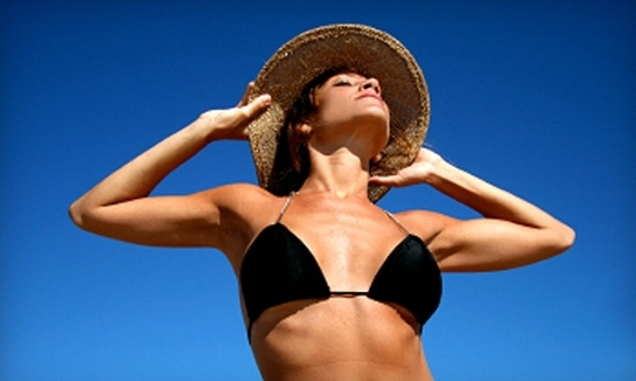 Spray Soleil - Third Ward: In-Home Spray-Tanning Sessions from Spray Soleil