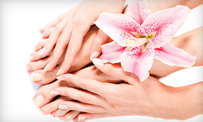 Ria's Touch - Shelby Township: $29 for a Spa Manicure and Pedicure at Ria's Touch in Shelby Township ($60 Value)