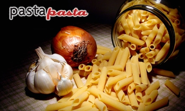 Pasta Pasta - Downtown: $10 for $20 Worth of Prepare-at-Home Pasta Meals at Pasta Pasta in San Mateo