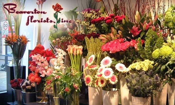 Beaverton Florists - Central Beaverton: $25 for $50 Worth of Flowers at Beaverton Florists