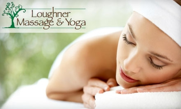 Loughner Massage and Yoga - Monroeville: One-Hour Massage From Loughner Massage and Yoga in Monroeville. Choose One of Three Techniques.