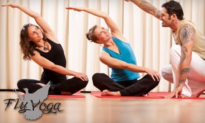 Fly Yoga - Mandeville: $30 for a Yoga Party at Fly Yoga in Mandeville