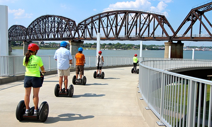 Wheel Fun Rentals- Louisville - Waterfront Park: Segway Tour for Two or Four from Wheel Fun Rentals (Up to 46% Off). Four Options Available.