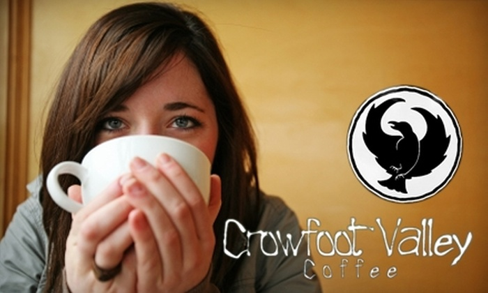 Crowfoot Valley Coffee - Briargate: $5 for $10 Worth of Coffee, Tea, and More at Crowfoot Valley Coffee