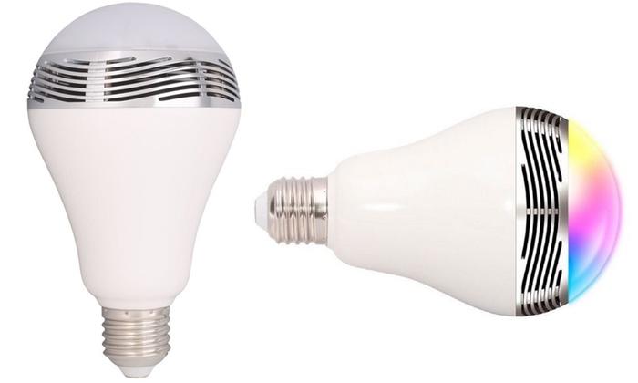 2-in-1 LED Light Bulb and Bluetooth Speaker