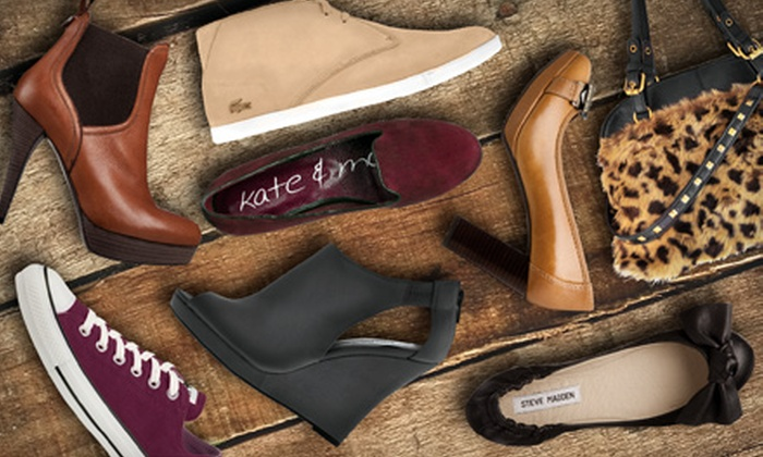 Town Shoes - Multiple Locations: $25 for $50 Worth of Women's and Men's Shoes and Handbags at Town Shoes. Two Locations Available.