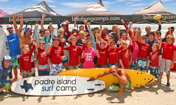 Padre Island Surf Camp - Padre Island: 90-Minute Private Surf Lesson or One Day of Youth Surf Camp from Padre Island Surf Club (Up to 57% Off)