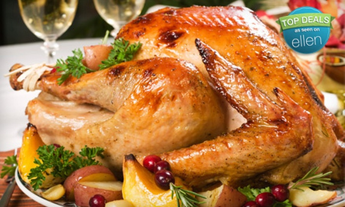 David Burke at Bloomingdale's - Upper East Side: $145 for a Take-Home, Gourmet Thanksgiving Dinner Including Whole Turkey for 6–8 People from David Burke at Bloomingdale's ($299 Value)