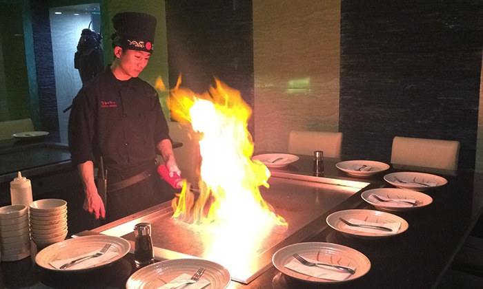 Sushi X - Robbinsdale - Crystal - New Hope: Sushi and Hibachi at Sushi X (50% Off). Two Options Available.