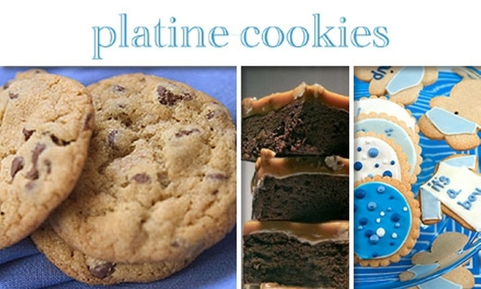 Platine Cookies - Washington Culver: $12 for $25 Worth of Cookies, Brownies, and Delicious Desserts at Platine Cookies