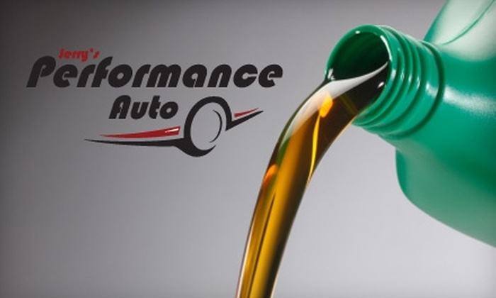 Jerry's Performance Auto - Webster: $12 for an Oil Change at Jerry's Performance Auto in Webster