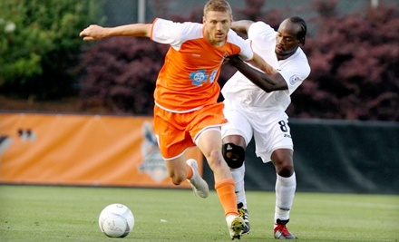 Carolina RailHawks vs. NSC Minnesota Stars at WakeMed Soccer Park on Wed., Aug. 17 at 7:00PM: Premium-Level Seating - Carolina RailHawks in Cary