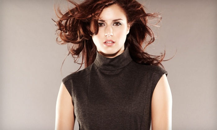 Hair To Dye For - Downtown: Haircut, Full Color, or Full Highlights at Hair To Dye For (Up to Half Off)