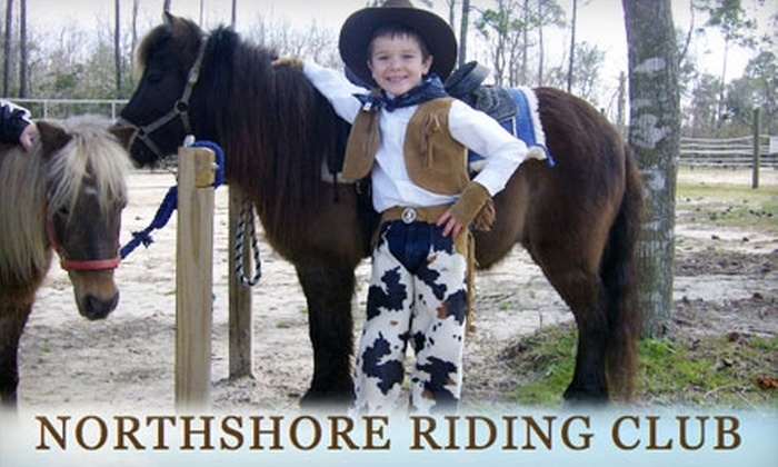 Northshore Riding Club - 14: Pony Party at Northshore Riding Club in Slidell. Choose Between Two Options.
