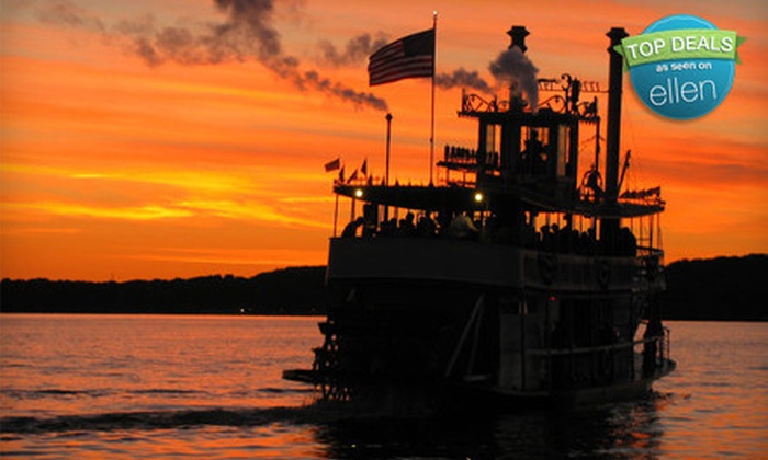 """""""Chautauqua Belle"""" - Multiple Locations: $20 for a Narrated Cruise or Cocktail Cruise for Two aboard the """"Chautauqua Belle"""" ($40 Value)"""