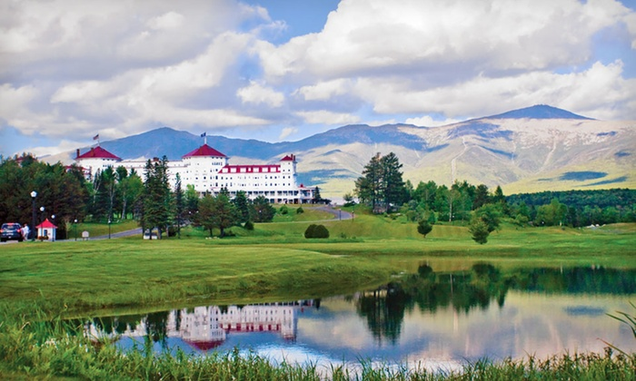 null - Boston: Stay at Omni Mount Washington Hotel in Bretton Woods, NH. Dates Available Into December.