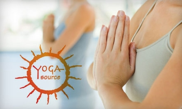 YogaSource - Richmond Heights: $12 for Three Classes at YogaSource ($48 Value)