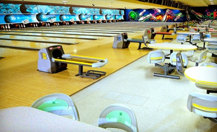 2 Hours of Bowling and Shoe Rental for 4 People (Valid Sun-Thurs) - Oops Alley in Pace