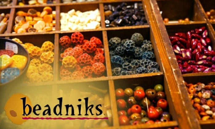 Beadniks - Park City: Jewelry, Beads & Beading Classes at Beadniks in Park City. Choose Between Two Options.
