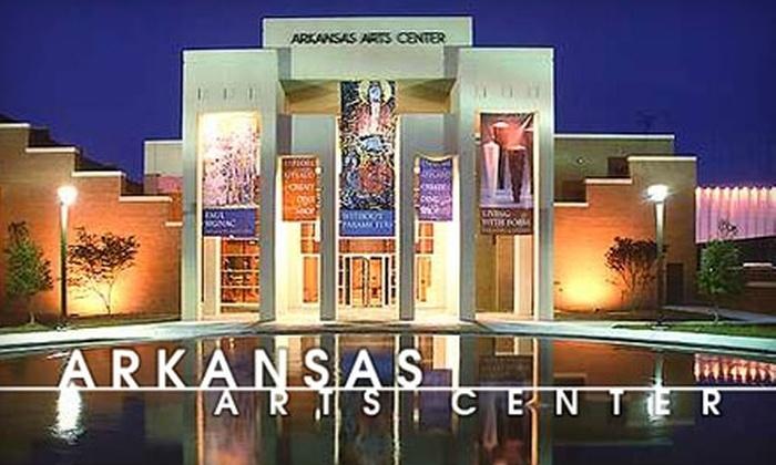 Arkansas Arts Center - Downtown: $25 for a One-Year Individual Membership to Arkansas Arts Center ($55 Value)