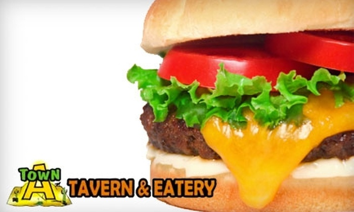 A Town Tavern and Eatery - Mountain Park Ranch: $10 for $20 Worth of Pub Fare and Drinks at A Town Tavern and Eatery