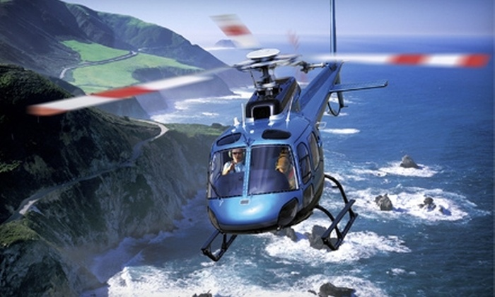 Specialized Helicopters - Watsonville: $127 for a Helicopter Tour for Three People from Specialized Helicopters in Watsonville (Up to $255 Value)