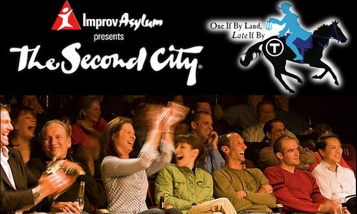Improv Asylum - South End: $35 for One Ticket to The Second City, Presented by Improv Asylum (Up to $69.25 Value). Buy Here for 5/9/10 at 4 p.m. See Below for Additional Dates and Times.