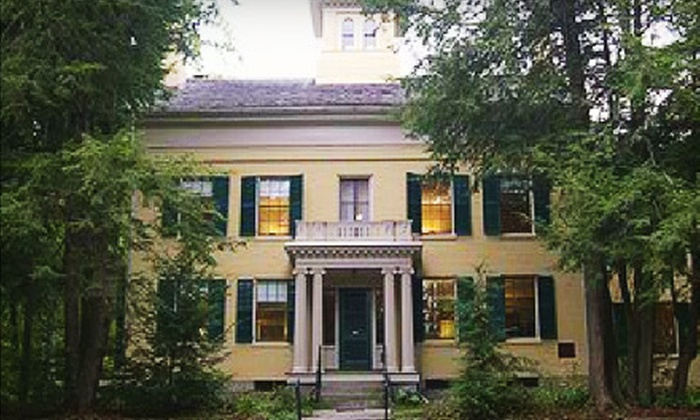 Emily Dickinson Museum - Amherst Center: Individual or Family Membership or Two Admissions to Museum or Tour at the Emily Dickinson Museum in Amherst